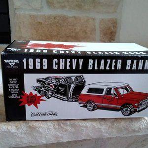 Die Cast 1969 Chevy Blazer Bank -NIB